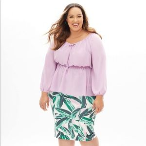 LANE BRYANT - BEAUTICURVE collection top NEW